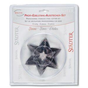 Ausstecher-Set Sterne V01
