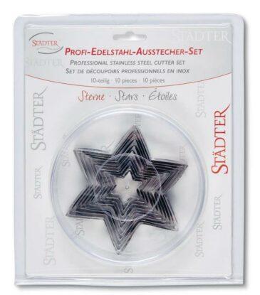 Ausstecher-Set Sterne, 10-teilig