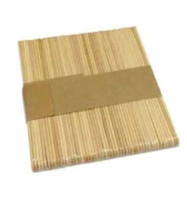 Glace Holzstiele, 50 Stück