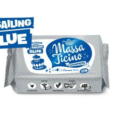 Rollfondant Massa Ticino, Blau, 250 g