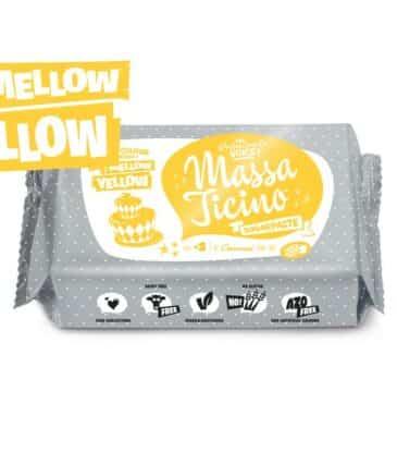 Rollfondant Massa Ticino, Gelb, 250 g