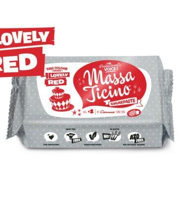 Rollfondant Massa Ticino, Rot, 250 g