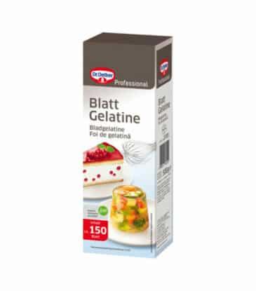 Blattgelatine PROFI, 150 Stück (500 g)