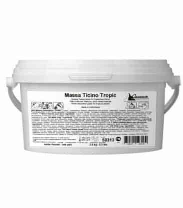 Rollfondant Massa Ticino, Tropic Weiss, 2.5 kg